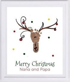 Paper - Reindeer Footprint by rhoda