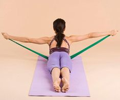 rid of unsightly back fat with this intense Pilates plan — all it takes is a little resistance.Get rid of unsightly back fat with this intense Pilates plan — all it takes is a little resistance. Forme Fitness, Body Fitness, Fitness Diet, Fitness Motivation, Health Fitness, Workout Fitness, Fitness Band, Fat Workout, Fitness Weightloss