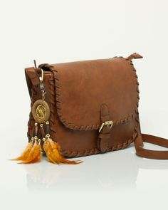 Leather Crossbody Bag from Le Château
