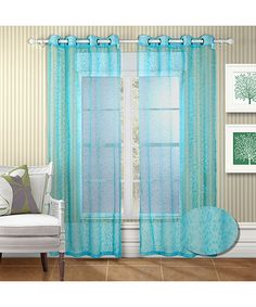 chic home design abby curtains - house design plans