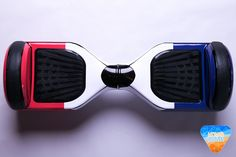 French Flag Hoverboard Custom Vinyl Wrap Decal