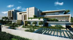 Jumairah Private Villa, Dubai, UAE on Behance