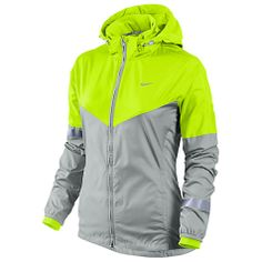 Nike Women's Vapor Jacket. But maybe with a light blue instead of the neon green/yellow color