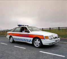1991 Ford Scorpio Cosworth Police Car