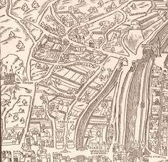 Plan Paris : Gibet de Montfaucon