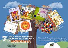 El blog de Manu Velasco: 7 Libros Infantiles Para Trabajar La AtencióN A La Diversidad