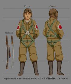 WWII Japanese Kamikaze Pilot