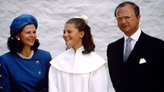 Crown Princess Victoria was taught in 1991.Reuter Raymons / Getty Images