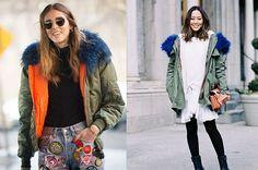 La compra de la semana: parka con capucha pelo (de colores)