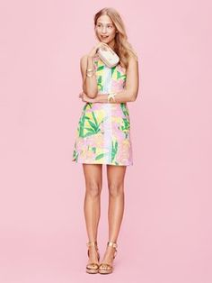Lilly Pulitzer for Target: Shift Dress yes please!!! Love the shoes!