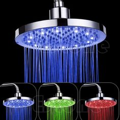 Home Improvement Modern Multi-functional Bionic Dolphin Shower Head Led Bathroom Shower Head Hand Shower Head Shower Equipment