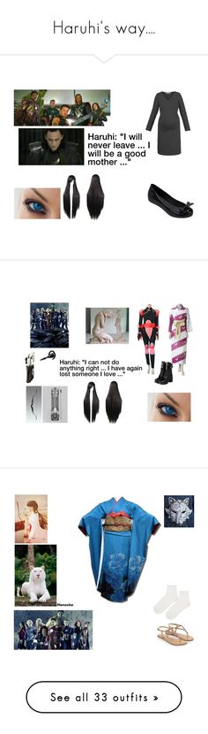"""""""Haruhi's way...."""" by haruhikurosaki-demon ❤ liked on Polyvore featuring Melissa, Sango, yeswalker, Venom, Accessorize, Topshop, LE3NO, 7 For All Mankind, Bruuns Bazaar and BCBGMAXAZRIA"""