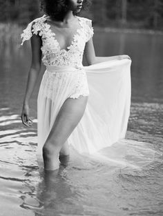 EMANUEL HENDRIK | Body Suit: Dance | Train: Nina| Wedding Dress - Wedding - Bride / Duesseldorf - Germany / Handmade - Made in Germany / Forest - Woods - Trees - Lake - Nature / Bodysuit - Lace - Train - Tulle - White - Backless / Fashion - Bridal Couture / Hair - Afro / Flower Bouquet / Horse | Wedding - Destination - Beach - Festival - Wild - Party - Sparkle - Boho - Vintage - Barn - Glamour - Outdoor | Wedding Dress | Fashion - Bridal Couture - Flower Bouquet