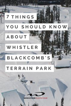 You don't have to be pro to head into the terrain park, there is something for everyone! Click on the image for some tips on what to expect in the terrain park.