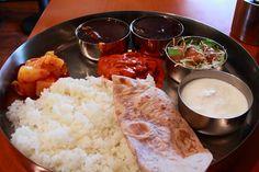 korma curry in asakusa.