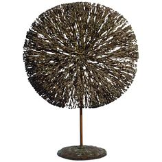 Harry Bertoia Rare Bush Form | From a unique collection of antique and modern sculptures at https://www.1stdibs.com/furniture/decorative-objects/sculptures/