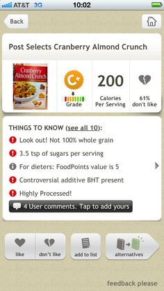 diet tracking app iphone