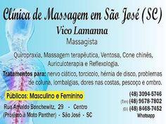 Clínica de Massagem Terapêutica e Quiropraxia em São Jose SC, Massoterapia: Clínica Massagem Terapêutica Massoterapia Quiropra...