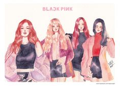 #BLACKPINK fanart ©2610october