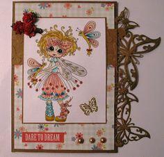 Besties card by Claudia Rogier... cute, cute, cute!