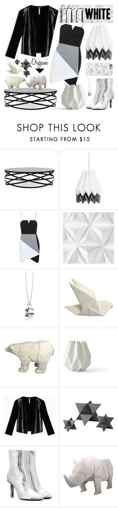 """""""Origami"""" by makimpm ❤ liked on Polyvore featuring Topshop, Mr Perswall, Origami Jewellery, Threshold, Menu, Max&Co., Global Views, Vetements, Disaster Designs and Casetify"""