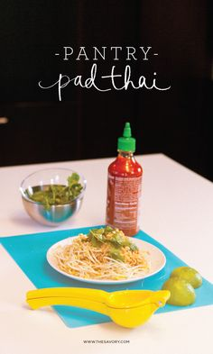 Got that dorm room life, or just pressed for time? Pretend-perfect pad thai comes together in minutes with quick-cooking ramen. This at home version of pad thai uses peanut butter to make a variation that is easy, fresh, and flavorful. It might sound