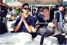 Kevin Richardson and Brian Littrell of Backstreet Boys