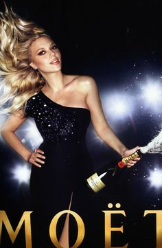 Scarlett Johansson   Moët & Chandon 2009