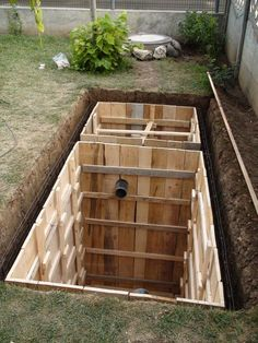 Smokehouse Plans x Smoker Smoke House Building Diy Septic System, Septic Tank Systems, Backyard Layout, Backyard Landscaping, Septic Tank Design, Build A Smoker, Plumbing Drains, My House Plans, Underground Homes