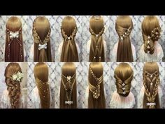 Top 35 Amazing Hairstyles Tutorials Compilation 2017 Girls Will Love Best Hairstyles for Girls - YouTube