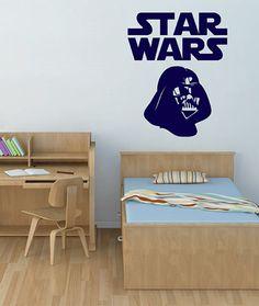 kik2198 Wall Decal Sticker Darth Vader Star Wars logo living room children's