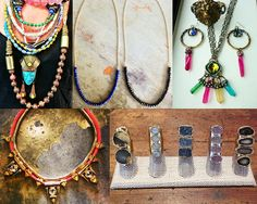Cool Jewels from Poole Shop, Theodosia Jewelry, chezElle, Scout & Molly's Charlotte & Etcetera, etc..