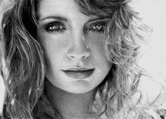 Pencil Sketch Portraits by Switzerland based artist Anna-Maria.  Piercing Eyes