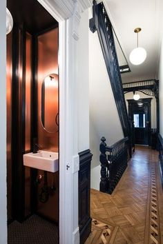 Macon Street Townhouse, Brooklyn. Jane Kim Design