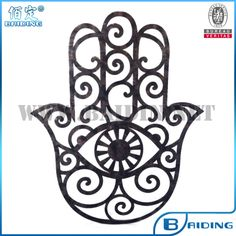 Hamsa HandPerfect piece for any home. Plasma cut and finished off with a black ripple effect powder coating perfect for indoor use and outdoor use Hamsa Hand Tattoo, Hamsa Art, Hand Tattoos, Mandala Art, Mandala Drawing, Hamsa Drawing, Hand Der Fatima, Henne Tattoo, Hamsa Design