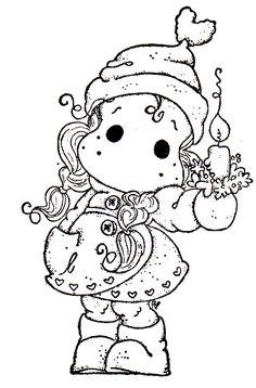 Waiting For Christmas 2014 - Christmas Candle Tilda
