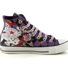 bf0462db03cb48 Converse All Star Hi Harley Quinn Athletic Shoe Mens   Womens All Sizes.