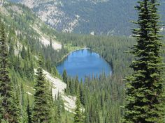 Beautiful Nicomen Lake offers a refreshing dip after a day of hiking! E.C.Manning Provincial Park.