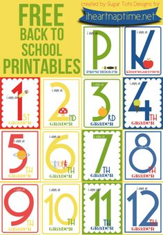 7 FREE back-to-school printables | #BabyCenterBlog