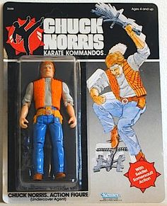 CHUCK!  I almost met him in Iraq...I was so close...I will always be empty...but I loved these figures