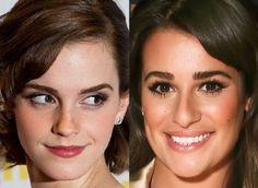 Make com cores neutras: veja o que Emma Watson, Lea Michele e outras famosas usaram!