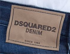 etiqueta de cintura para jeans