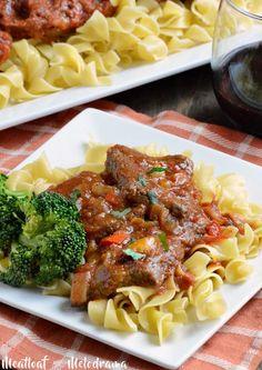 easy swiss steak recipe dinner on egg noodles