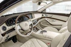 The new Mercedes-Maybach S-Class melds the perfection of the Mercedes-Benz S-Class with the exclusivity of Maybach. Mercedes Benz Maybach, Mercedes 600, Maserati, Bugatti, Ferrari, Mercedes S Class Interior, Interior Design Hd, Nissan, Jaguar