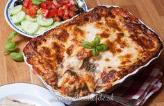 Lasagne met kip en spinazie