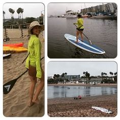 We've got a new recruit to the #paddleboarding community! Chantell Haines loved her #aztekpaddle so much she's thinking about becoming a #supracer! #sup #malibu2marina #paddleboard #supconnect