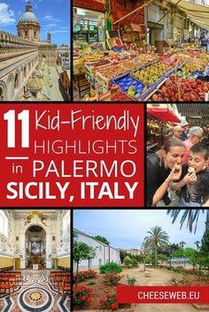 Adi shares 11 family travel highlights of Palermo, Sicily, Italy's vibrant capital city. Italy Travel Tips, Slow Travel, Family Travel, Sicily Italy, Toscana Italy, Sorrento Italy, Naples Italy, Venice Italy, Palermo Sicily