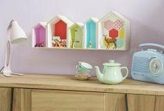 Customiser une Étagère maison | #homedéco #pastel #géométrique