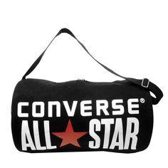0150c7b1b610 Black Duffel Bag by Converse