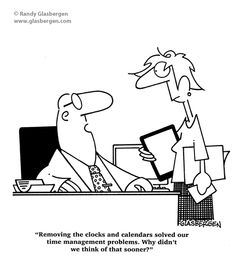 funny time management